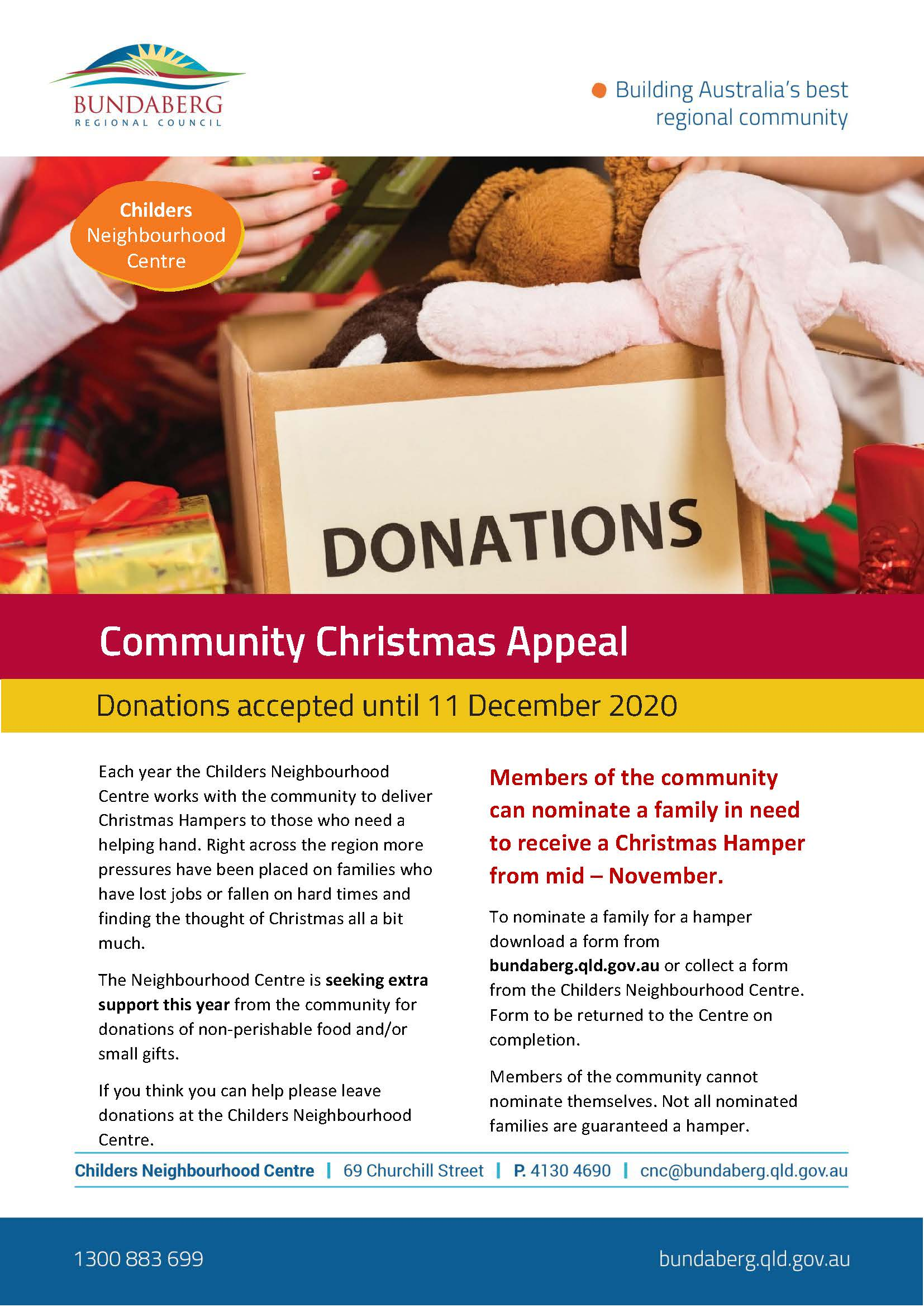 Community Christmas Appeal