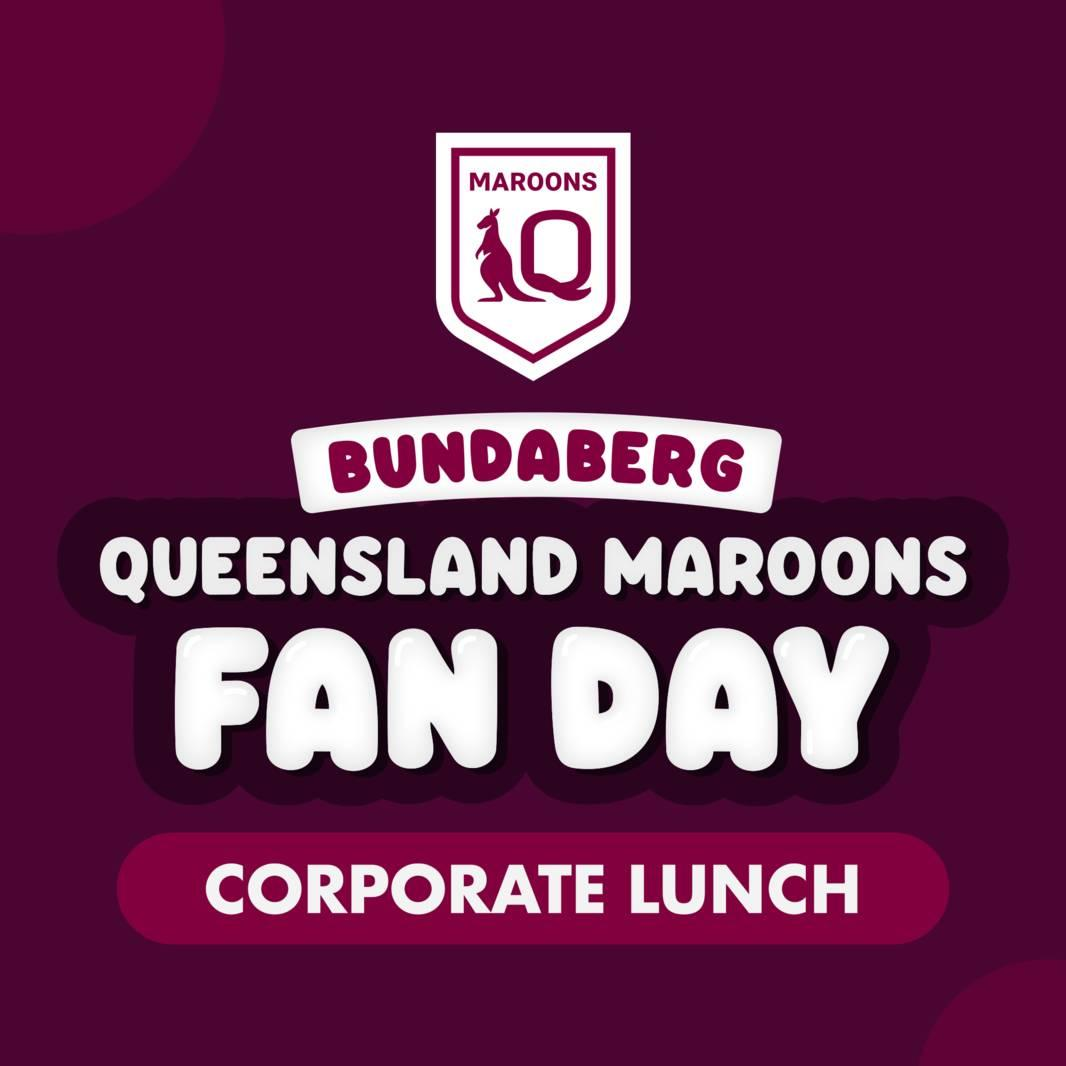 Maroons Fan Day Lunch