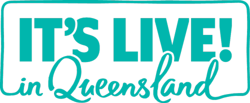 Itslive qld stamp teal